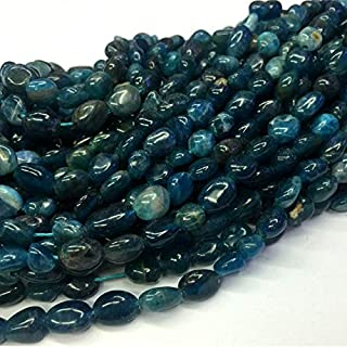 Jewel Beads Natural Beautiful jewellery 1 Strands Natural Green Blue Apatite Phosphorite Nugget Free Form Fillet Irregular Pebble Beads Fit Jewelry 15