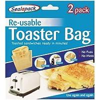 Buste Sacchetti Per Toast Riutilizzabili - Confezione da 2