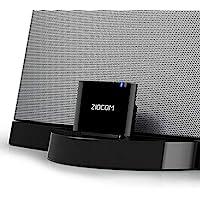 Adaptateur audio Bluetooth pour haut-parleur Bose Sounddock IPod iPod Dock Récepteur A2DP 30 broches Adaptateur Bluetooth 4.1 pour haut-parleur, Avant de commander, confirmez la liste de compatibilité