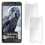 2X Samsung Galaxy J7 (2016) | Schutzfolie Matt Display Schutz [Anti-Reflex] Screen Protector Fingerprint Handy-Folie Matte Displayschutz-Folie für Samsung Galaxy J7 2016 Displayfolie