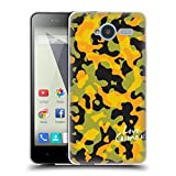 Official Cosmopolitan Yellow Green Camo Soft Gel Case for