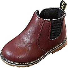 YanHoo Moda Infantil Chicos Chicas Martin Zapatillas Botas Niños Bebé Casual Zapatos Botas Antideslizantes para niños