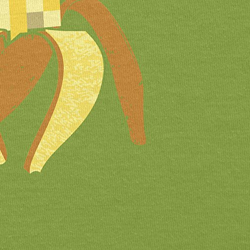 NERDO - Pixeled Banana - Damen T-Shirt Kiwi