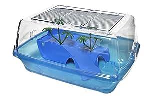 Nayeco to10006 vasca per tartarughe 45x23x34cm colori for Filtro vasca tartarughe