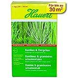 Hauert Bambus und Ziergräser Volldünger mit Langzeitwirkung, 1 kg Karton