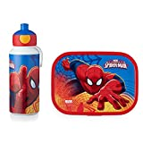 MEPAL Pop-up Trinkflasche und Brotdose lunchset-Campus-pubd-Ultimate-Spiderman, abs, 0 mm, 2