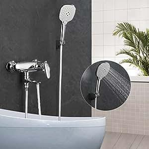 ubeegol badewannenarmatur mischbatterie badewanne amaturen dusche mischer duscharmatur mit. Black Bedroom Furniture Sets. Home Design Ideas