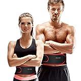 isermeo Cintura Atrás Apoya Cinturones, Apoyos Lumbares Ajustable, Protector lumbar de Alivio del Dolor Bajista Respirable, Cinturones de Entrenamiento Cintura Abdominal Muscular (L)