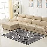 SX-ZZJ %Teppich Rechteckige Teppiche - Design von Teppichen Wohnzimmer Couchtisch Teppich Liege Nachtteppich GeometrischeTeppiche (Farbe : A, größe : 120 * 170cm)