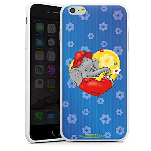 Apple iPhone X Silikon Hülle Case Schutzhülle Benjamin Blümchen Fanartikel Merchandise Blümchen für dich Silikon Case weiß