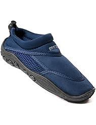 Beco combinado Surf Zapatos Escarpines + Beach pelota Agua Azul