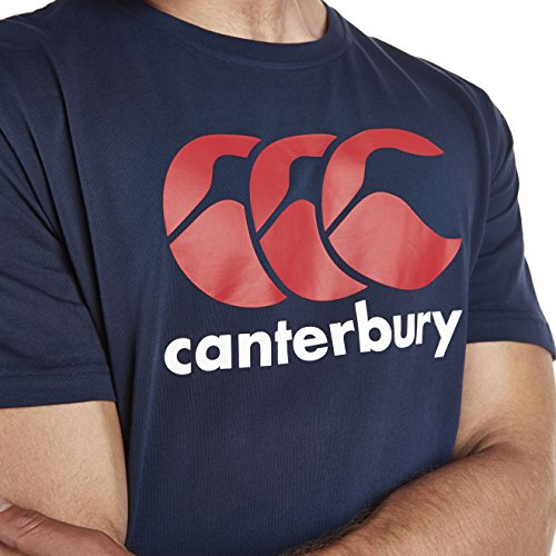 Canterbury Men's CCC Logo Tee Navy/Red/White