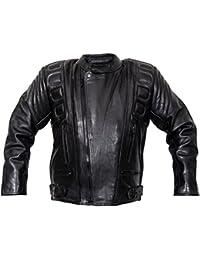Chaqueta De Chaquetas Leder24h Abrigo Moto es Ropa Amazon zwq5ZCF