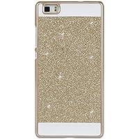 For Huawei P8 Lite (2015) Hullen, Asnlove Ultra Slim Hardcase Kristall Schutzhulle für Huawei P8 Lite Bling Hart Schutz Etui Tasche Glitzer Glitter Cover Case