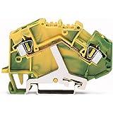 781–607/999–950–Set de 2L de PE de abrazadera 4qmm verde/amarillo