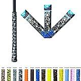 Alien Pros X-Tac Golf Griffband- Nehmen Sie Stolz in Ihrem Clubs mit Alien Griffband, Griff mit und Overgrip Ihre Golfgriffe. 3er-Pack in einer Vielzahl von Stilen erhältlich