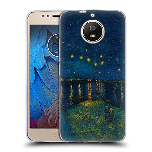 Offizielle Masters Collection Starlight Over The Rhone Bilder 2 Soft Gel Hülle für Motorola Moto G5S