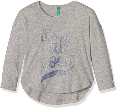 united-colors-of-benetton-madchen-t-shirt-3qt6c12wn-grau-grey-7-8-jahre-herstellergrosse-m