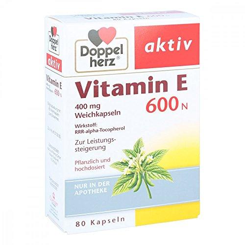 Doppelherz Vitamin E 600 80 stk