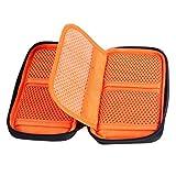 K&F Concept® 6 Fächer Objektivtasche Filter Wallet Tasche Objektiv Zubehör Filtertasche für DSLR Kamera Filter mit Reißverschluss