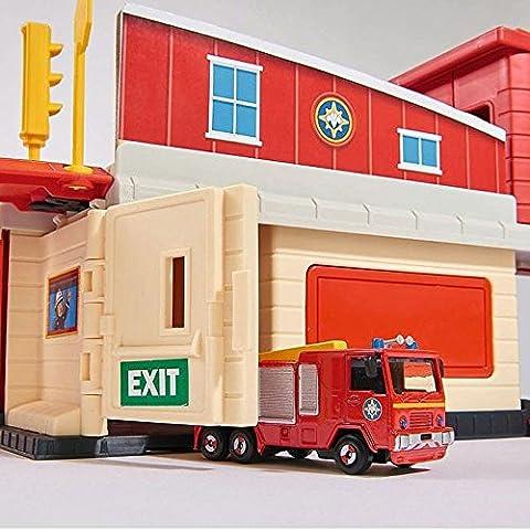 Sam Le Pompier - Fireman Sam - The Cast Mini Série - Caserne De Pompiers