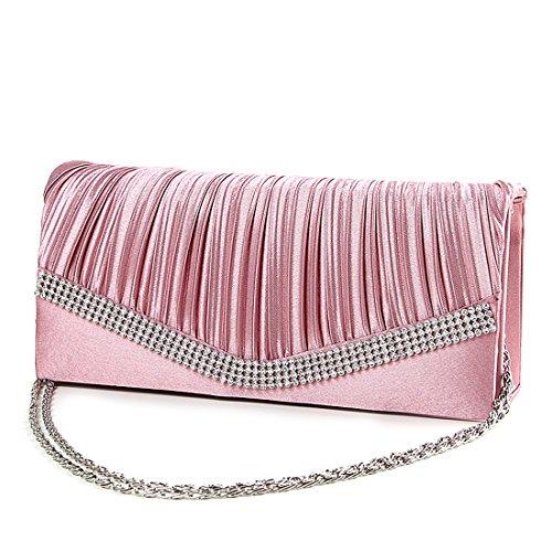 SSMKClutch Bag - Boesa da sera Donna Pink