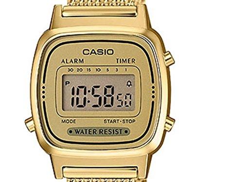 Sale. - 41llCtO2N5L - Casio Femmes Digital Quartz Montre avec Bracelet en Acier  Inoxydable ... 1d472d4521c6