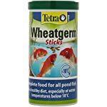 Tetra Pond Wheat Germ Sticks, Pond Fish Food Specially Formulated for Cold Weather Feeding, 1 Litre 5