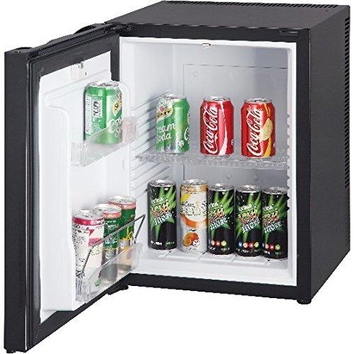Syntrox Germany 52 Liter Null DB-lautloser Mini Kühlschrank geräuchloser Hotelkühlschrank