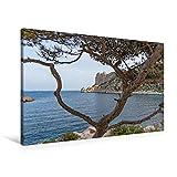 Premium Textil-Leinwand 90 x 60 cm Quer-Format Calanque de Sormiou | Wandbild, HD-Bild auf Keilrahmen, Fertigbild auf hochwertigem Vlies, Leinwanddruck von Martin Ristl