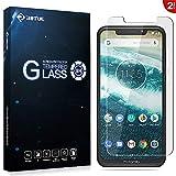 RIFFUE Motorola One Protector de Pantalla, Cristal Vidrio Templado Glass Premium [9H Dureza] [3D Touch] [Alta Definicion] 0.26mm Screen Protector Film para Motorola One [2 Unidades]