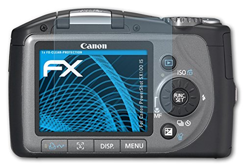 atFoliX FX-Clear, Canon PowerShot SX100 IS