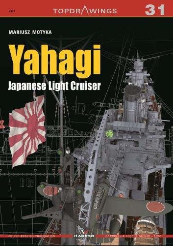 Yahagi. Japanese Light Cruiser 1942-1945 (Top Drawings) por Mariusz Motyka