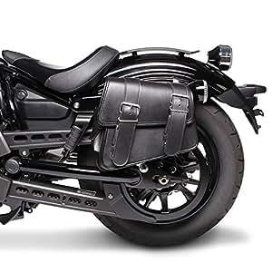 Sacoche Cavalière pour Harley Davidson Street 750 Montana Noir Gauche