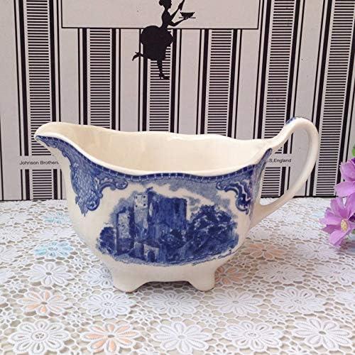 QPGGP-Piatto blu Chateau vasellame in Western Dish Tazza di di di Caffe ',g. 9b8190