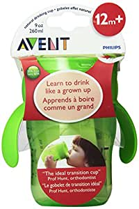 Philips AVENT 9 Ounce BPA Free Natural Drinking Cup 1-Pack Green