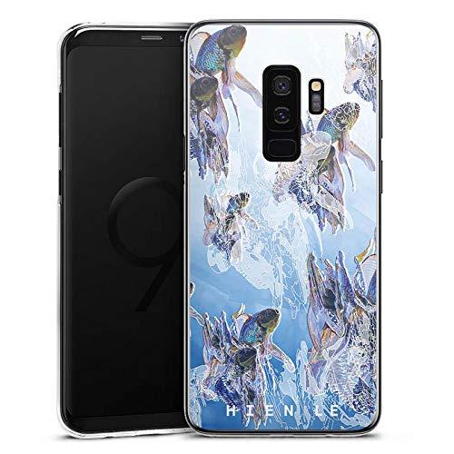 DeinDesign Hülle kompatibel mit Samsung Galaxy S9 Plus Duos Handyhülle Case Hien Le Goldfisch Fische -