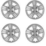 CARIZO Car Wheel Cover Caps Silver VTE-D 14 inches Press Type Fitting (Set of 4) for Volkswagen Vento Type 2 2015-2016 Amazon Rs. 1599.00