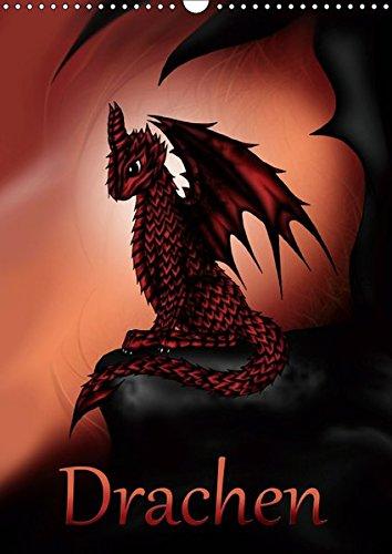 Drachen (Wandkalender 2019 DIN A3 hoch): Fantasie-Drachen (Monatskalender, 14 Seiten ) (CALVENDO Kunst)