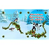 christmas Adventures of Justin: A letter to Santa-Claus . Christmas Book story For Kids (1) (English Edition)