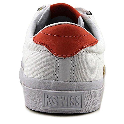 K-swiss - Irvine T, Zapatillas De Deporte Blancas (weiß (blanco / Fusion Coral / Dark Gum))