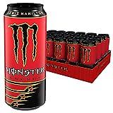 Monster Energy LH44 - Lewis Hamilton Special Edition Energy Drink mit erfrischendem Geschmack, Dosen-Palette, EINWEG (24 x 500ml)
