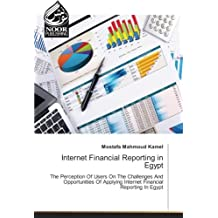 Internet Financial Reporting in Egypt: The Perception Of Users On The Challenges And Opportunities Of Applying Internet Financial Reporting In Egypt