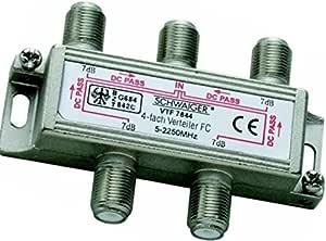 Sat Verteiler 4 Fach Vtf7844 221 Schwaiger Elektronik