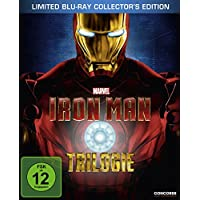 Iron Man: Trilogie (Steelbook inkl. exklusivem Iron Man Comic) [Blu-ray] [Limited Collector's Edition] [Limited Edition]