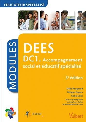 DEES DC1 - Accompagnement social et éducatif spécialisé