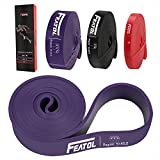 Featol Fitnessbänder mit Beutel & Übunsanleitung, Pull Up Resistance Band /...