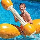 Juego de piscina hinchable seguro para juegos de agua para niños con diseño flotante para ayudar a la flotación flexible de los palos de mar mojados y flotantes de juguete largo para entretenimiento