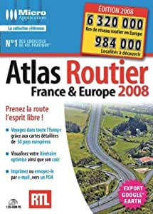 Atlas Routier France & Europe 2008