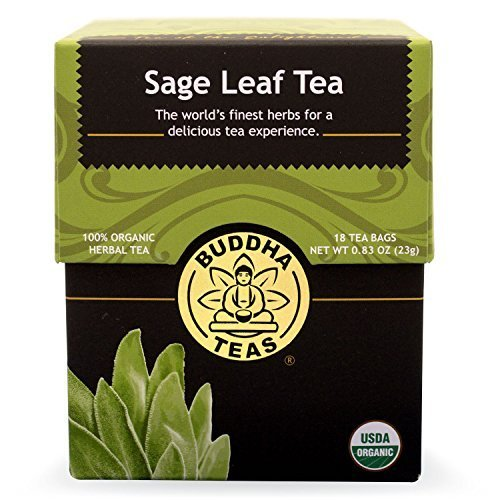 Sage-Leaf-Tea-Organic-Herbs-18-Bleach-Free-Tea-Bags-by-Buddha-Teas